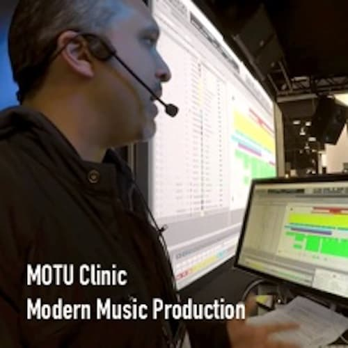 MOTU Clinic on Modern Music Production