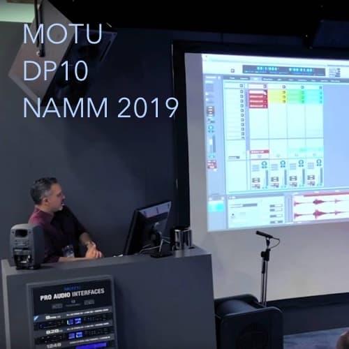 MOTU DP10 NAMM 2019