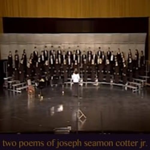 Two Poems of Joseph Seamon Cotter